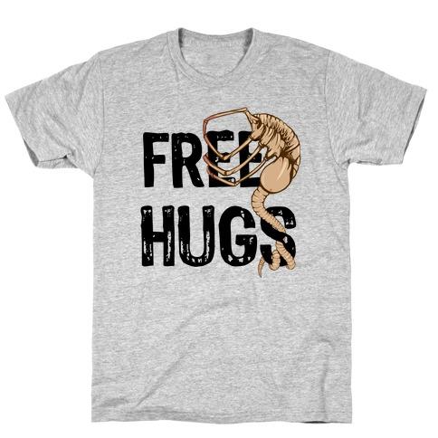 Free Facehugger Hugs T-Shirt