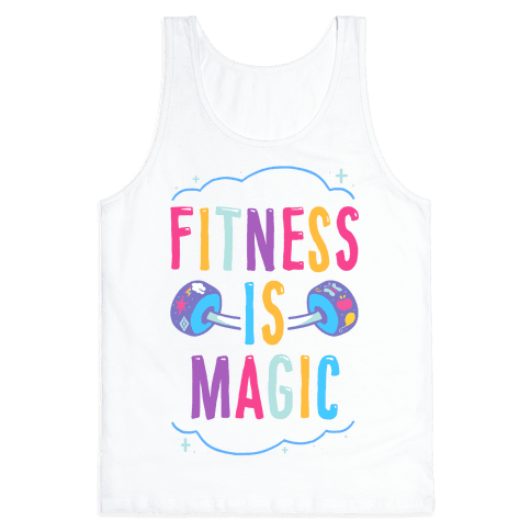 Fitness Is Magic Tank Top