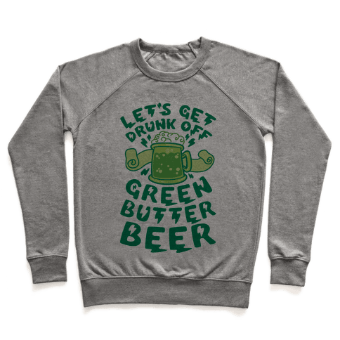Green Butter Beer Pullover