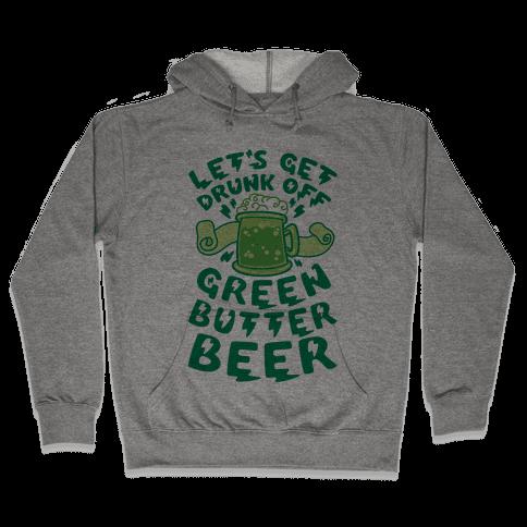 Green Butter Beer Hooded Sweatshirt