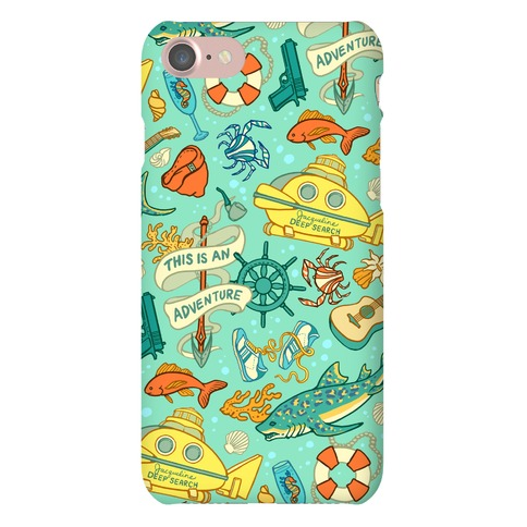 Life Aquatic Nautical Pattern Phone Case