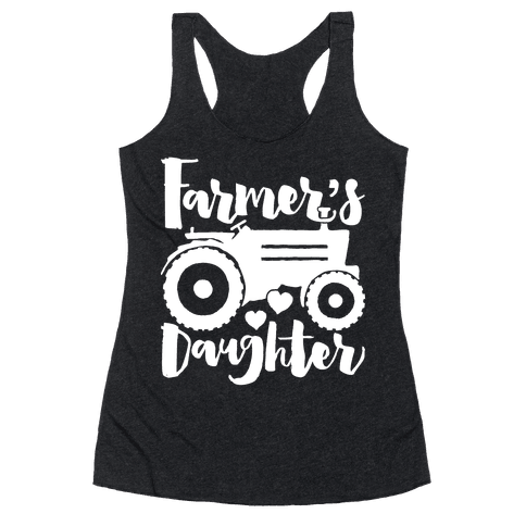 Farmer's Daughter Racerback Tank Top