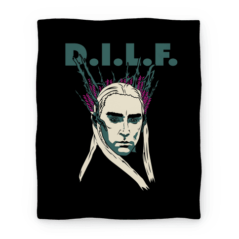 Thranduil is a DILF Blanket Blanket