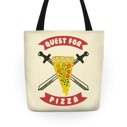 Quest for Pizza Tote