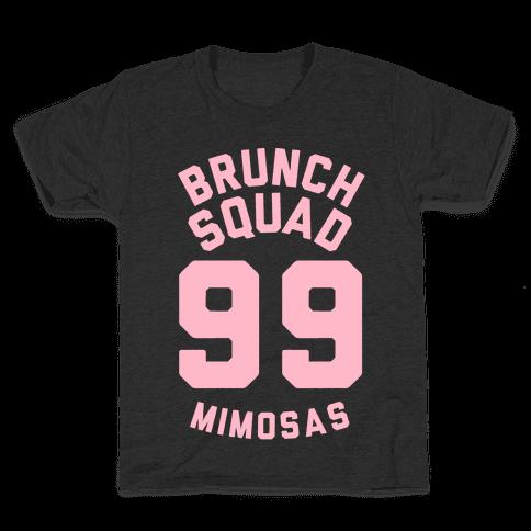 Brunch Squad 99 Mimosas Kids T-Shirt