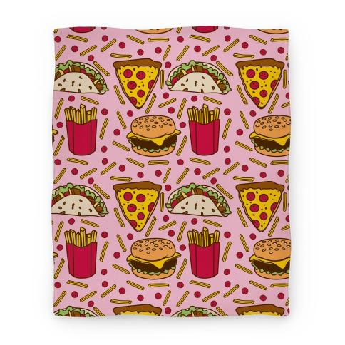 Junk Food Blanket