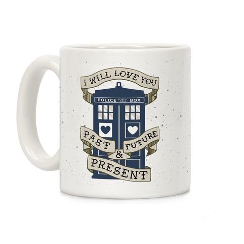 Doctor Who Lover Coffee Mug
