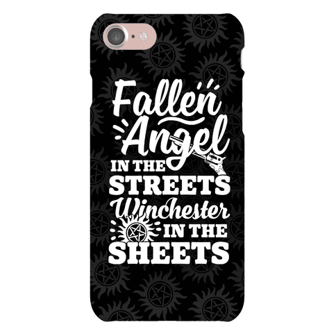 Fallen Angel In The Streets Winchester In The Streets Phone Case