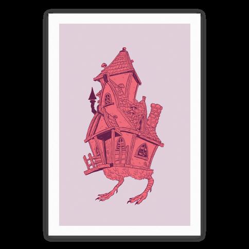 Baba Yaga's House Poster