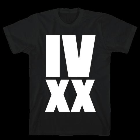 IV XX (4:20) Mens T-Shirt