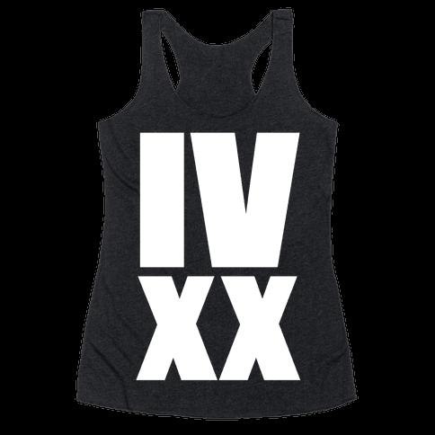 IV XX (4:20) Racerback Tank Top