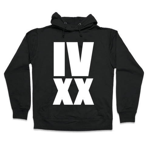 IV XX (4:20) Hooded Sweatshirt