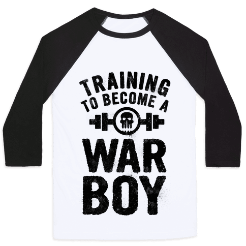 Training to Become a War Boy Baseball Tee