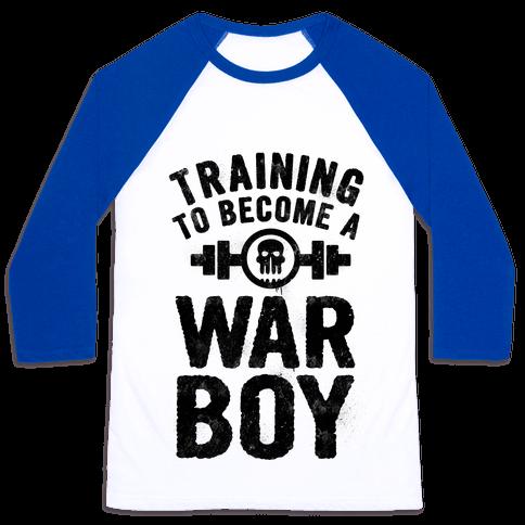 Training to Become a War Boy Baseball Tee