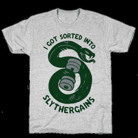 I Got Sorted into SlytherGAINS Mens T-Shirt