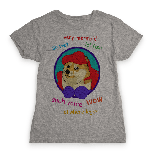 The Little Dogemaid Womens T-Shirt