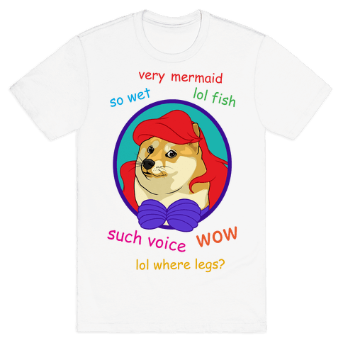 The Little Dogemaid Mens T-Shirt