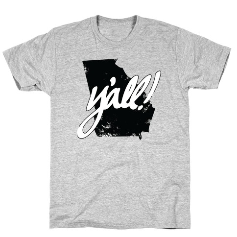 Y'all! (Georgia) Mens T-Shirt