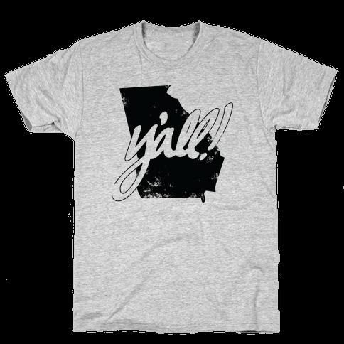 Y'all! (Georgia) Mens T-Shirt