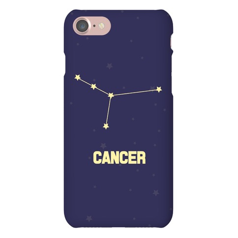 Cancer Horoscope Sign Phone Case