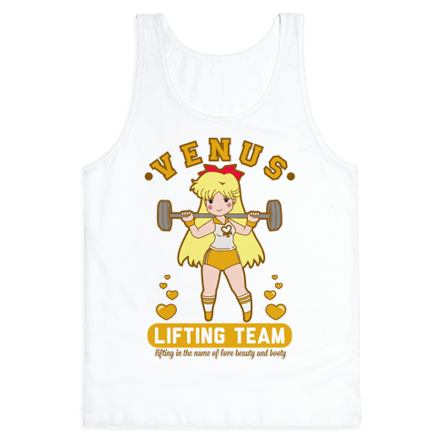 Venus Lifting Team Parody Tank Top