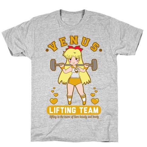 Venus Lifting Team Parody T-Shirt