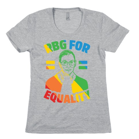 Rbg For Equality Womens T-Shirt
