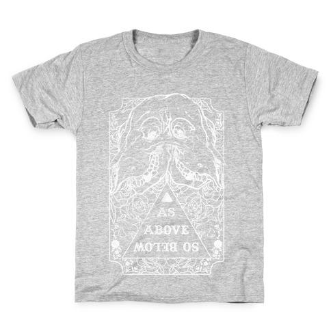As Above So Below Kids T-Shirt