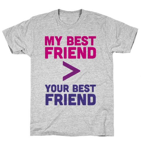 My Best Friend Mens T-Shirt