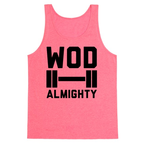 WOD Almighty Tank Top