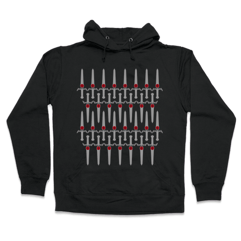 The Sword of Omens Hooded Sweatshirt