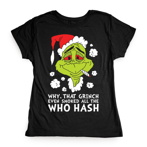 Who Hash Womens T-Shirt