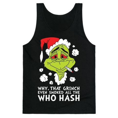 Who Hash Tank Top