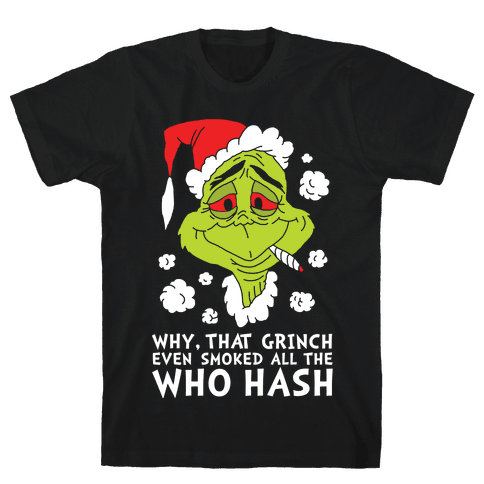 Who Hash Mens T-Shirt