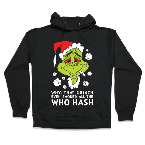 Who Hash Hooded Sweatshirt