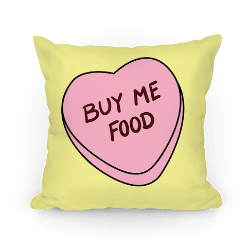 Buy Me Food Pillow