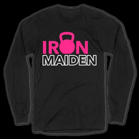 Iron Maiden (Kettlebell) Long Sleeve T-Shirt