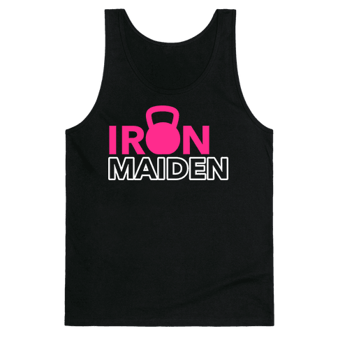 Iron Maiden (Kettlebell) Tank Top