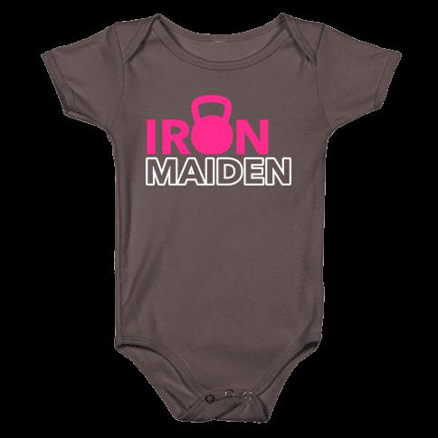 Iron Maiden (Kettlebell) Baby One-Piece