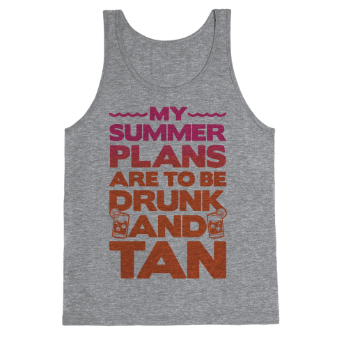 My Summer Plans Tank Top