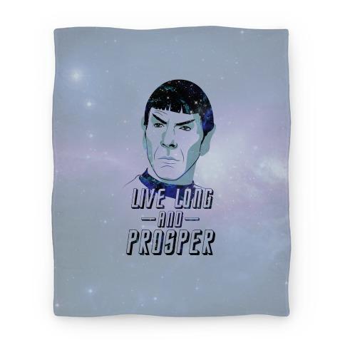 Live Long and Prosper Blanket