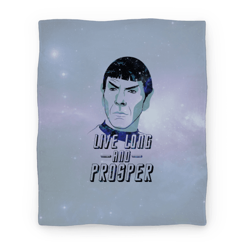 Live Long and Prosper Blanket