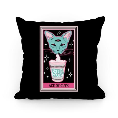 Creepy Cute Tarots: Ace of Cups Pillow