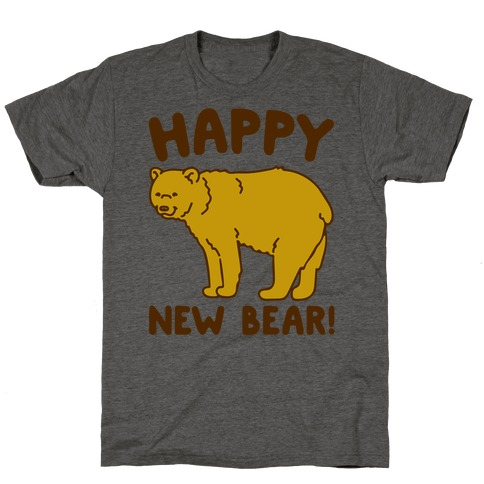 Happy New Bear T-Shirt