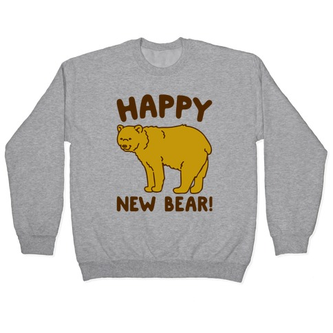 Happy New Bear Pullover