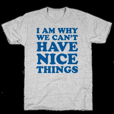 I Am Why Mens T-Shirt
