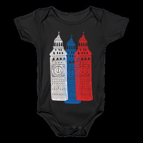 London's Big Bens Baby Onesy