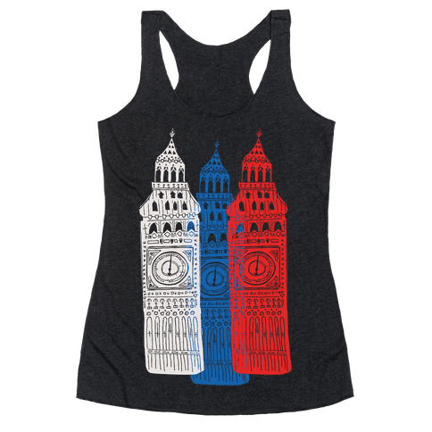 London's Big Bens Racerback Tank Top