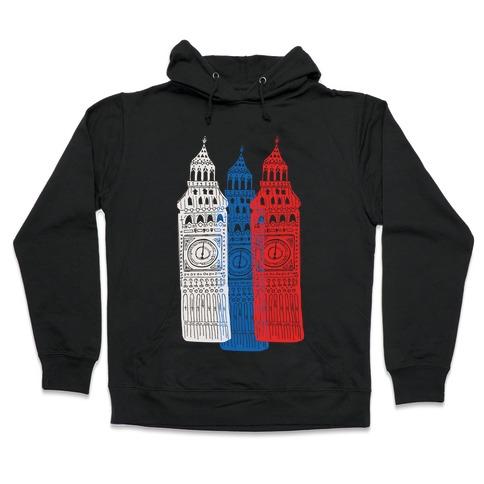 London's Big Bens Hooded Sweatshirt