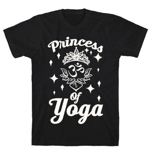 Princess Of Yoga Mens T-Shirt